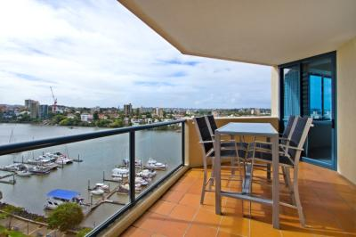 Central Dockside Apartments Balcony View